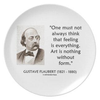 El arte de Gustave Flaubert no es nada sin cita de Plato Para Fiesta