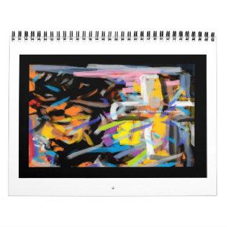 El arte de Johnny E.SJ. Otilano Calendarios De Pared
