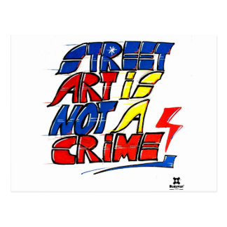 El arte de la calle de Dadawan no es un crimen Postales