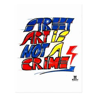 El arte de la calle de Dadawan no es un crimen Postal