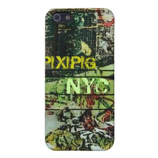 El arte de la calle de Soho destruye la caja del i iPhone 5 Cárcasa