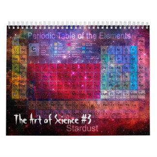 El arte de la ciencia #3 calendarios de pared
