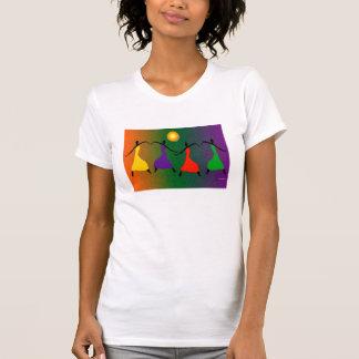 El arte de la danza camisetas