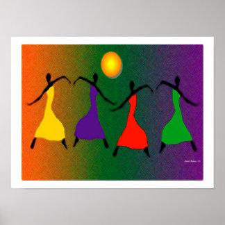 El arte de la danza póster