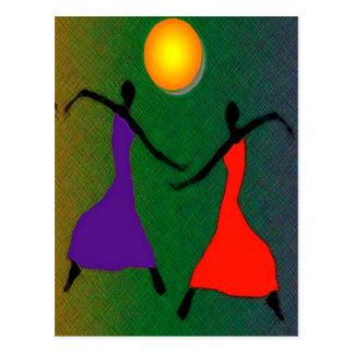 El arte de la danza tarjetas postales