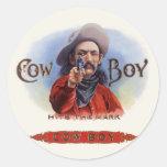 El arte de la etiqueta del cigarro del vintage,