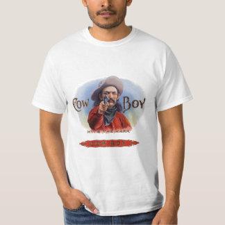 El arte de la etiqueta del cigarro del vintage, camisas