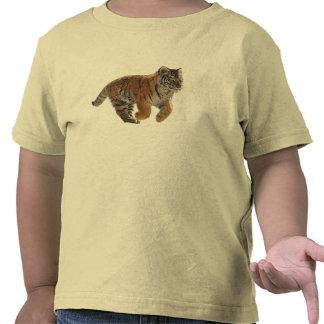 El arte de la fantasía de Cub de tigre de Amur Camisetas