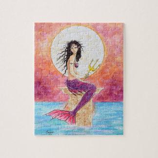 El arte de la fantasía de la sirena desconcierta j rompecabezas con fotos