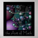 El arte de la matemáticas póster