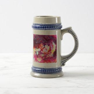 El arte de la mujer taza de café