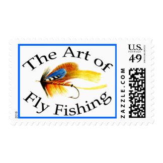 El arte de la pesca con mosca sellos