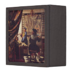El arte de la pintura de Juan Vermeer Cajas De Joyas De Calidad