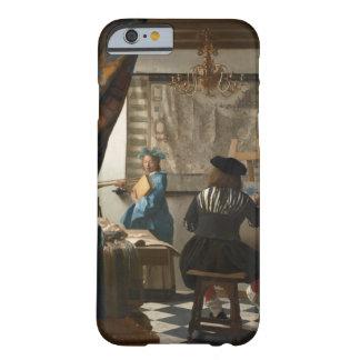 El arte de la pintura de Juan Vermeer Funda De iPhone 6 Barely There