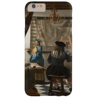 El arte de la pintura de Juan Vermeer Funda De iPhone 6 Plus Barely There