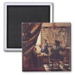 El arte de la pintura de Juan Vermeer Iman De Nevera
