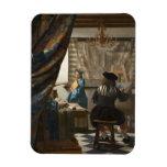 El arte de la pintura de Juan Vermeer Imanes