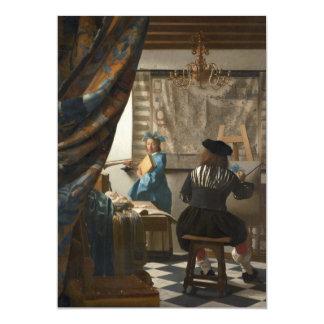 El arte de la pintura de Juan Vermeer Anuncio