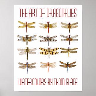 El arte de libélulas