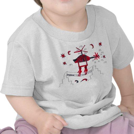 El arte de los niños - HELICÓPTERO Camiseta