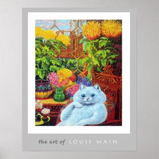 El arte de Louis Wain Póster