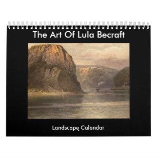 El arte de Lula Becraft Calendario