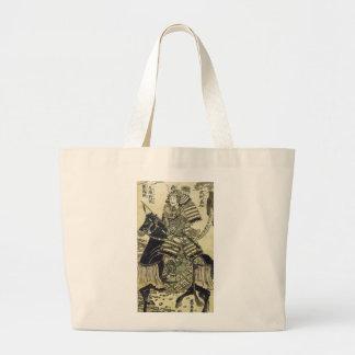 El arte de Minamoto del héroe del guerrero de Kiyo Bolsas De Mano