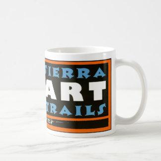 El arte de Sierra arrastra la taza envuelta logoti