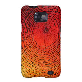 El arte de Web de araña Samsung encajona Galaxy SII Carcasas
