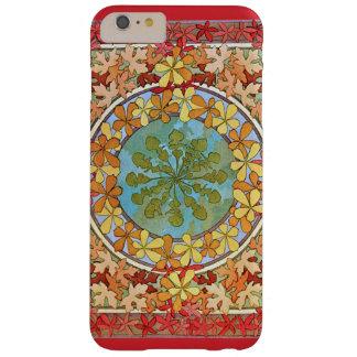El arte decorativo Nouveau deja el modelo Funda Barely There iPhone 6 Plus