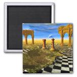 El arte del ajedrez, ajedrez gobierna, las abertur imán de nevera