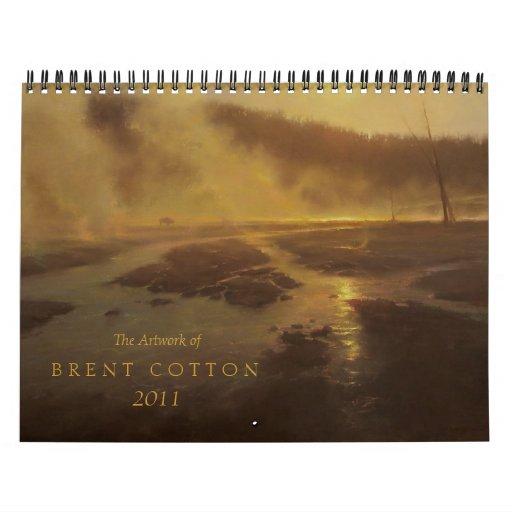 El arte del algodón 2011 de Brent Calendario