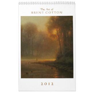 El arte del algodón de Brent Calendarios