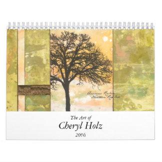 El arte del calendario 2016 de CHERYL HOLZ