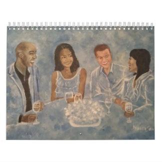 El arte del calendario de Janice Treece Senter