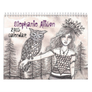 El arte del calendario de Stephanie Allison 2015