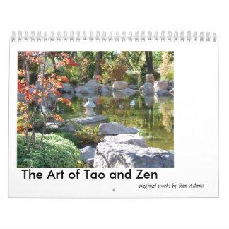 El arte del calendario de Tao y del zen