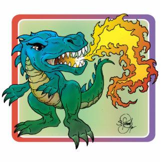 El arte del dragón inspiró por poco t de Scott Ros Esculturas Fotograficas