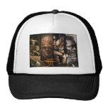 El arte del gorra de Jeff Herndon (negro)