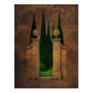 El arte del jardín secreto postales