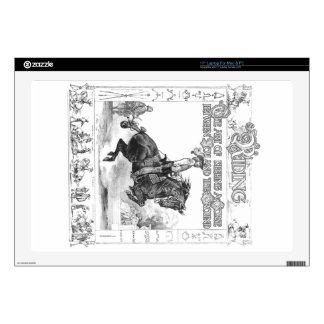 El arte del montar a caballo skins para 43,2cm portátil
