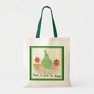 El arte del niño, verde bolsas