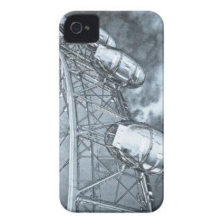 El arte del ojo de Londres Case-Mate iPhone 4 Carcasa