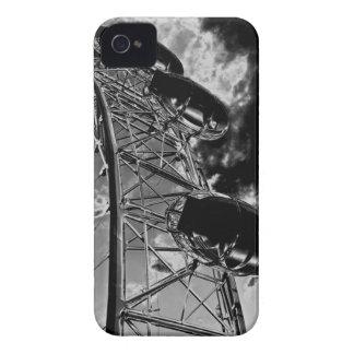 El arte del ojo de Londres iPhone 4 Case-Mate Fundas