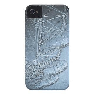 El arte del ojo de Londres Case-Mate iPhone 4 Protectores