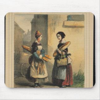 El arte del panadero, placa número 27 tapetes de raton