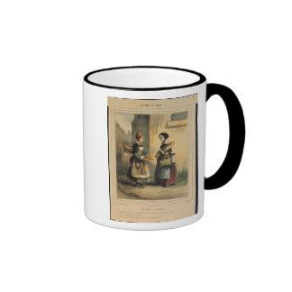 El arte del panadero placa número 27 taza de café