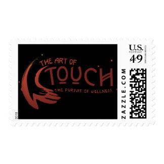 El arte del sello del logotipo del tacto