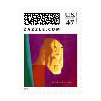 el arte del vikre de Roland - franqueo Timbre Postal