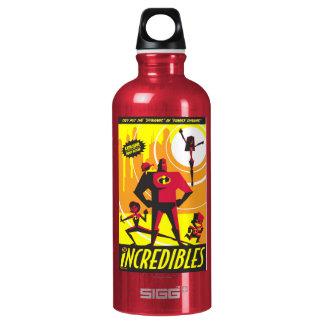 El arte Disney del poster de Incredibles